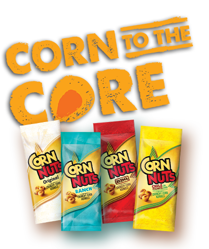 text: corn to the core